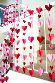 valentines office ideas. Valentines Day Office Decorations Ideas 3 D Heart Paper Garlands Easy Valentine Miss Bee Photo