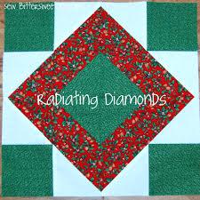 Radiating Diamonds Quilt Block Tutorial - Sew BitterSweet Designs ... & Radiating Diamonds Quilt Block Tutorial - Sew BitterSweet Designs Adamdwight.com