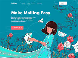 Creative Concepts Hair Design Web Design Inspiration 20 Examples Of Creative Landing Pages