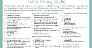 Free Wedding Checklist Templates - Fast.lunchrock.co