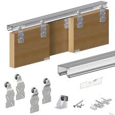 image of sliding closet door track