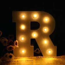 light up wall decor 6 white wooden letter r led marquee sign alphabet light wall decoration light up wall decor