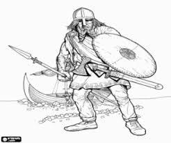 Vikings Coloring Pages Printable Games 2