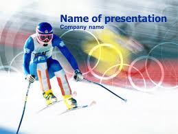 Winter Olympic Games Presentation Template For Powerpoint