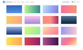 Gradient Hunt Beautiful Color Gradients