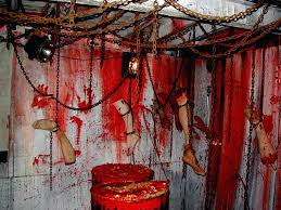 haunted house decorations ideas spooky house decor for haunted house ideas  chained ceiling this is what . haunted house decorations ideas ...