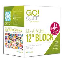 GO! Qube Mix & Match 12  Block |AccuQuilt| & GO! Qube Mix & Match 12
