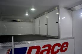 Cabinets For Cargo Trailers Shadow Gt Gooseneck Race Car Trailers For Sale Pace Race Car