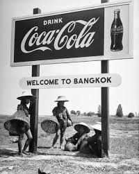 A Thai billboard makes a suggestion in 1950.