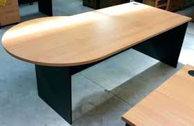 round office desk. Round Office Table Half Circle Desk End .