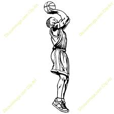 Basketball Drawing Pictures Boy Shooting Basketball Clipart Great Free Clipart Silhouette