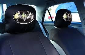 new batman camo logo headrest cover 2 low back f