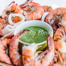 Vietnamese Green Seafood Sauce with ...