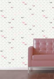 Pastel Roze Behang
