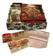 gift packaged with flyers and catalogs jpg