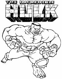 Small Picture Hulk Cartoon Coloring Pages Coloring Coloring Pages