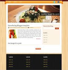 Food Recipe Template Food Recipe Blog Website Templates Themes Free Premium Free