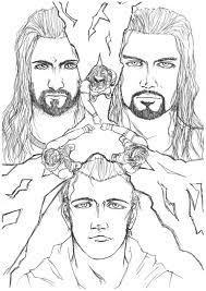 Do share your views on how your kids liked our collection of free. Get This Printable Wwe Coloring Pages Roman Reigns 21893
