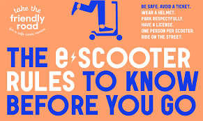 you ride an electric scooter