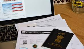 Us Passport Design How To Fill Ds 160 Form Online For Us Visa A Step By Step