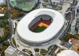 2020 Olympics Stadium Design Construction Of Stadium For 2020 Tokyo Olympics Completed At