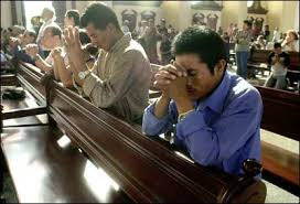 Image result for pictures of praying in church