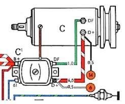 vw generator wiring simple wiring diagram generator wiring baja bugs volkswagen cars and vw hitachi starter generator wiring diagram generator