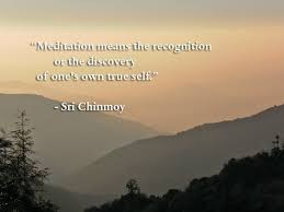 Meditation Quotes Delectable Quotes On Meditation Sri Chinmoy Quotes
