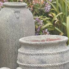 the big outdoor garden plant pot