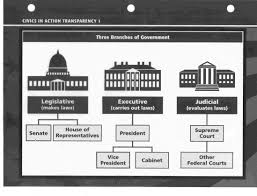 Three Branches Of Government Chart Our Government Lessons Tes Teach