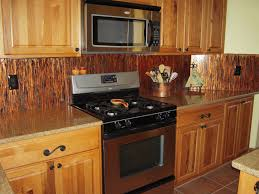 Copper Backsplash Kitchen Luxury Copper Backsplash Island With Marble Countertop Wooden