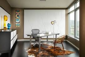 Home office design ideas big Wooden Asymmetry Grey White Brown Color Theme Decorating Home Office In Simple Modern Contemporary Style With Simple Pinterest Luxury Decorating Home Office Luxury Classic Big Wooden Home Office