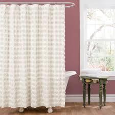 Lush Decor Lake Como Curtains Purple Shower Curtain Usa