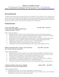 Best Ideas Of Mis Chef Career Objective Cook Resume Sample