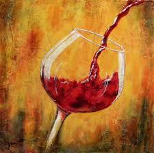 wine painting e2 80 94 crafthubs glass paintings abstract bottle tile design ideas kitchen