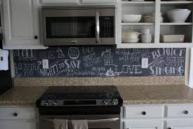 Chalkboard Paint Kitchen Chalkboard Paint Backsplash Houseofflowersus