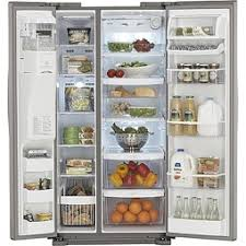 kenmore fridge inside. kenmore elite (51373) side-by-side stainless steel dispensing-refrigerator 23.3 cu ft fridge inside r