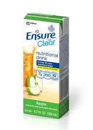 abbott ensure clear nutritional