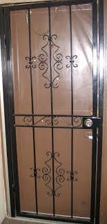 front door gateSecurity Gate for Residential Door