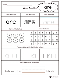 Kids. word printables: High Frequency Words Printable Worksheets ...
