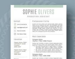 Reference Pages For Resume Resume Design Modern Resume Template For Word 1 3 Page