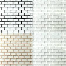 simple what color grout to use with white subway tile interior design beveled gray beige carrara marble grey glass wood