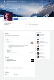 Web Designer Linkedin Linkedin Redesign On Behance Web Design Web Design