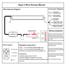 dual color led work light bar remote control wiring harness switch dual color led work light bar remote control wiring harness switch kit loom 12v