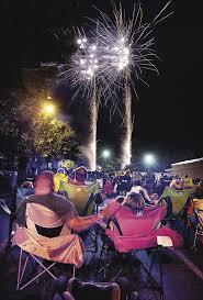 city celebrates nation s birth with fireworks festival