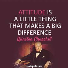 Winston Churchill Quotes Funny Magnificent Winston Churchill Quote About Difference Be Nice Attitude CQ