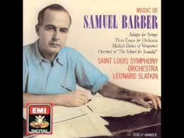 sep samuel barber three essays for orchestra once   sep 30 2012 samuel barber three essays for orchestra once was a note