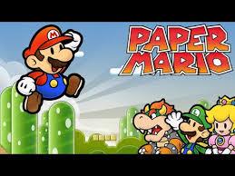 Flower Fields Paper Mario