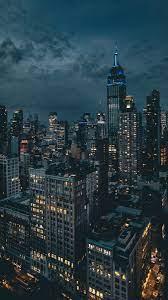 Download wallpaper 1350x2400 night city ...