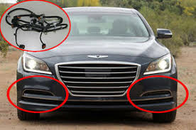 genuine oem led fog lamp wire harness set for 2015 2016 hyundai image is loading genuine oem led fog lamp wire harness set